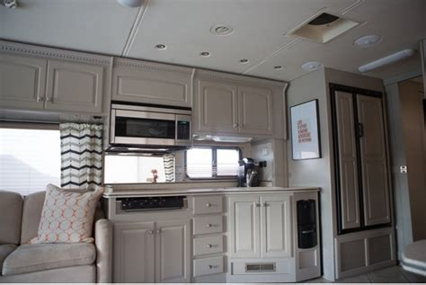 Best Way To Repaint Kitchen Cabinets colorful rv makeover