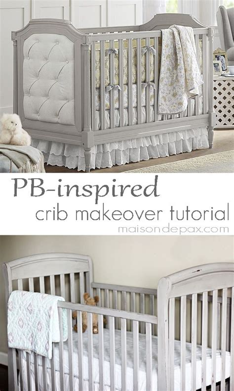 diy chalk paint crib diy painting a baby crib woodworking projects plans