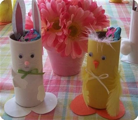 easter craft ideas with toilet paper rolls easter bunny toilet paper rolls crafts