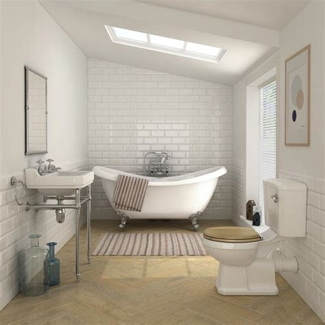 modern traditional bathrooms keswick traditional roll top bath suite at