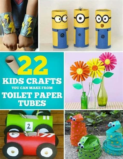 ac kid crafts toilet roll crafts toiletten papier