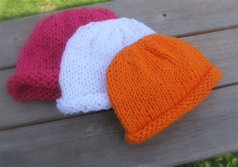 easy knit newborn hat pattern free easy baby hat knitting patterns wallpaper