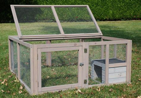 enclos pour lapin et cochon d inde pliable run out luxe animaloo