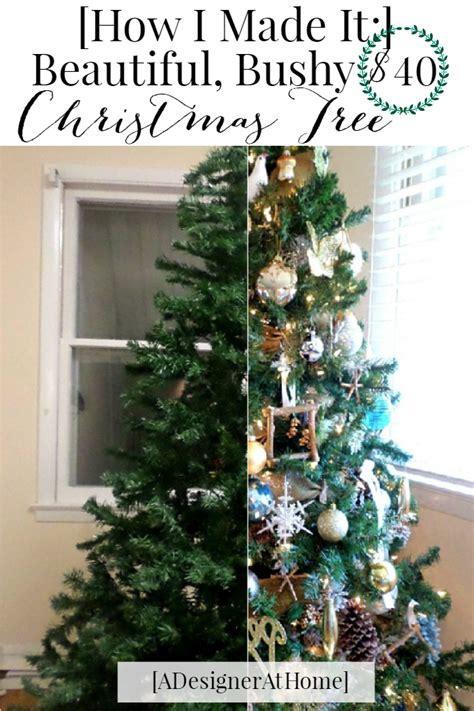 how to decorate a tree cheap get the most out of a cheap tree a designer at
