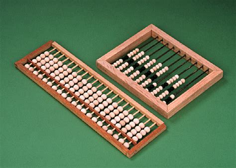 counting tool with smith college museum of ancient inventions abacus