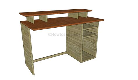 desk plans best free home design idea inspiration