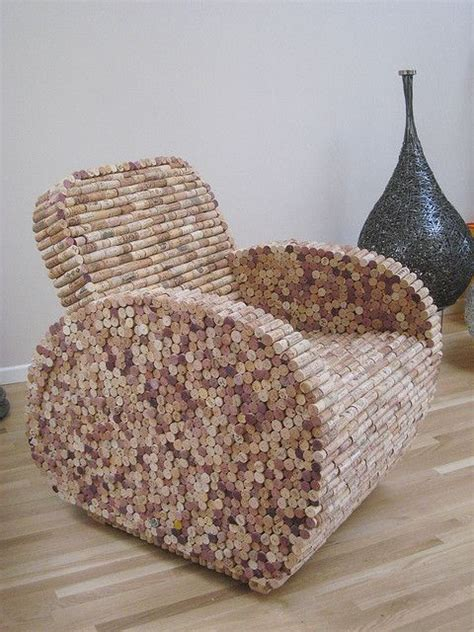 diy fauteuil en bouchons en li 232 ge cr 233 ation aaron kramer id 233 es d 233 co bouchon