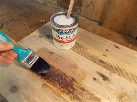 spray painting untreated wood an end table makeover minwax