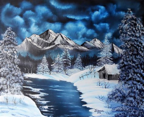 bob ross paintings winter 1000 images about bob ross on bobs jokes