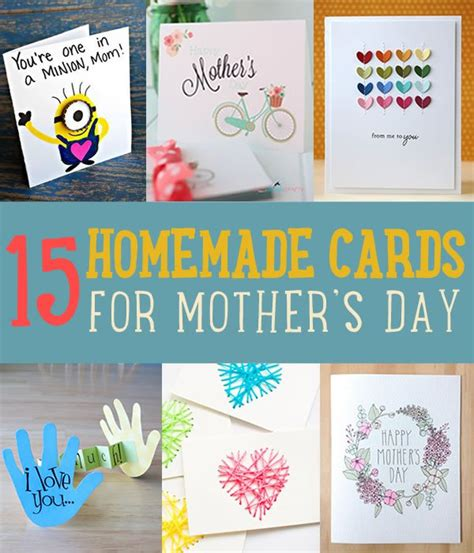 how to make the best mothers day card 15 beautiful handmade s day cards diy ready