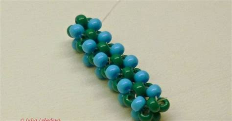 bead weaving for beginners beginners cubic right angle weave single thread stringing