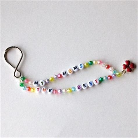 keychain crafts for quot my s the best quot keychain children s bead crafts