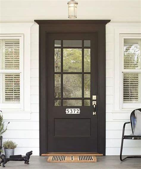9 light exterior door 25 best ideas about black exterior doors on