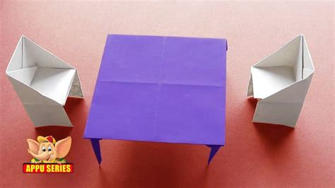how to make an origami table 17 best images about home origami on chairs