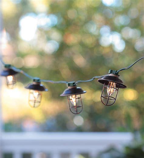 electric string lights indoor outdoor electric metal lantern string lights