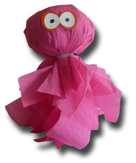 crepe paper crafts for paper crafts for children 187 crepe paper