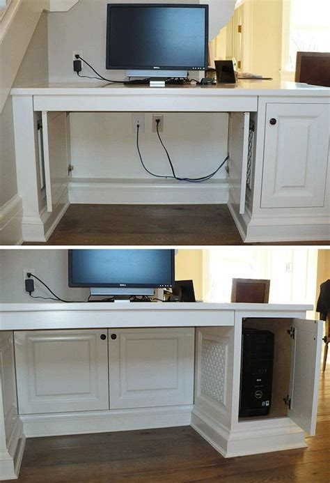 hide computer wires desk best 10 hide computer cords ideas on organize cords hiding computer cords and