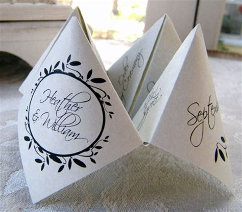 origami place card fortune teller place cards arts crafts and design finds