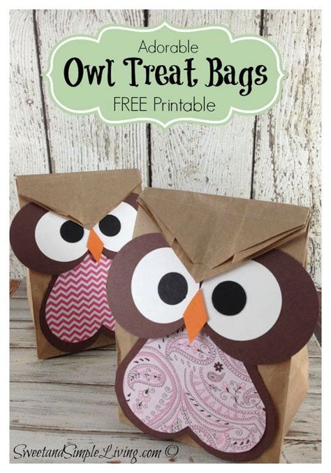 owl craft ideas for 25 best ideas about owl treat bags on owl