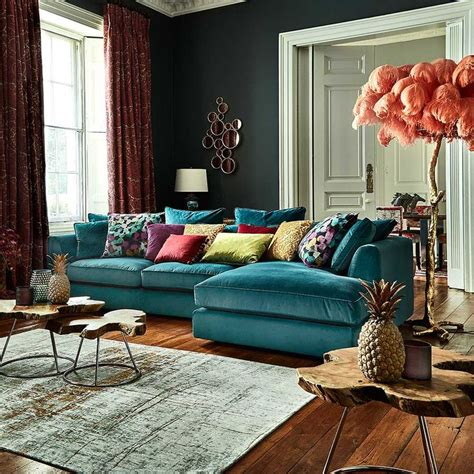 corner sofa living room 25 best ideas about teal sofa on teal sofa