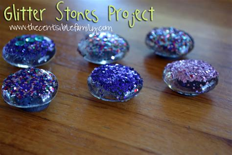 glitter craft projects clear stones for crafts