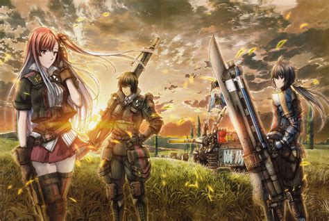valkyria chronicles valkyria chronicles 3 complete artworks riela marcellis