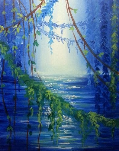 paint nite island pictures paint nite blue lagoon ii