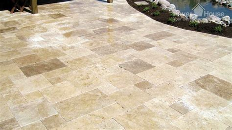 outdoor pavers for patios flagstone brick pavers in a patio flooring installation