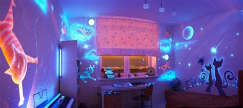 Wall Stickers Glow In The Dark glow in the dark bedroom decoration