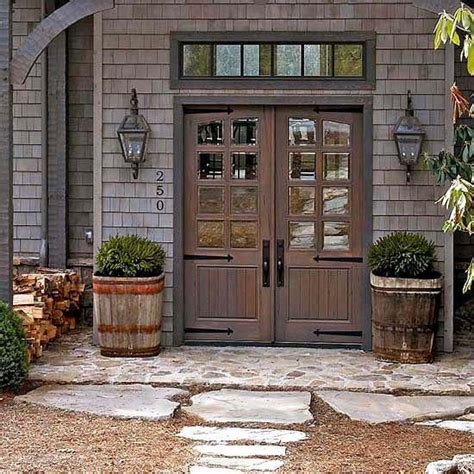 barn front door farmhouse front doors exterior colors front stoop and