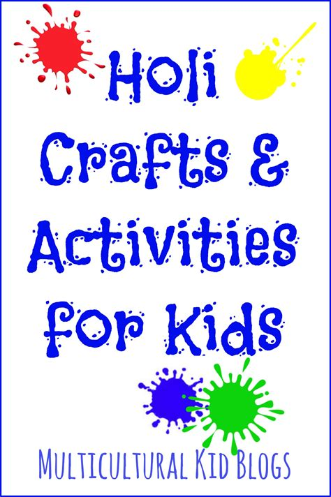 holi crafts for holi crafts and activities for multicultural kid blogs