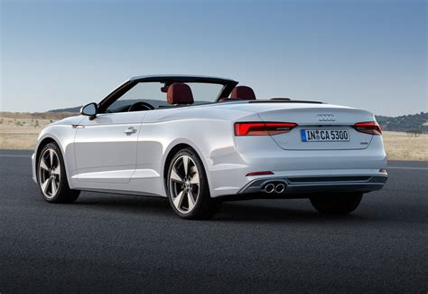 Audi A5 Cabriolet by Audi S New 2018 A5 Cabriolet Is Predictably Familiar