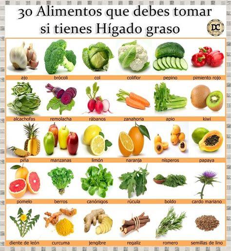 alimentos que da an el higado 30 alimentos que debes tomar si tienes el h 237 gado graso