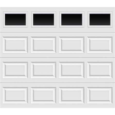 home depot overhead doors clopay premium series 8 ft x 7 ft 12 9 r value