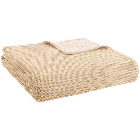 cotton knit blanket amana cotton knit blanket king 9704t save 49