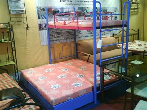 metal bunk beds with storage with pull out storage bed oliver metal furniture
