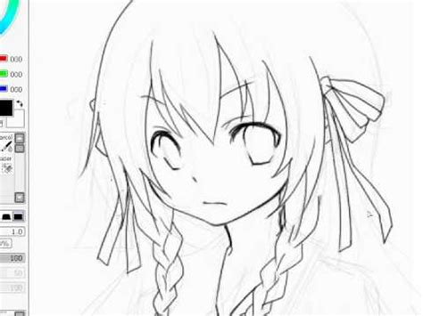 paint tool sai drawing without lineart lineart anime drawing sai paint tool kaneko eiza
