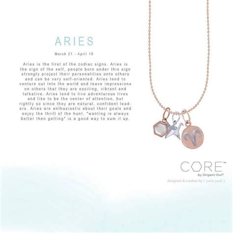 origami owl order origami owl collection zodiac aries order yours