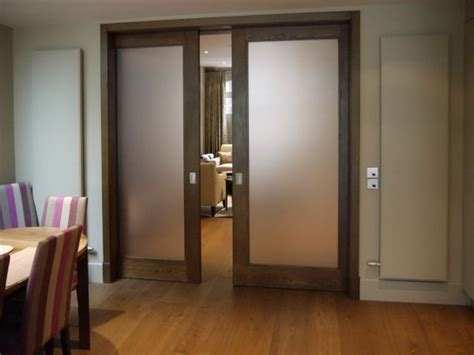 sliding glass pocket doors frosted glass pocket doors for your house seeur