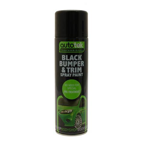 spray paint black car bumper trim spray paint black 500ml ebay