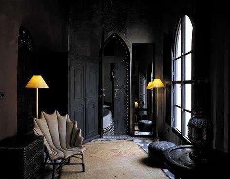 morrocan interior design the black wall a bold statement in interior design