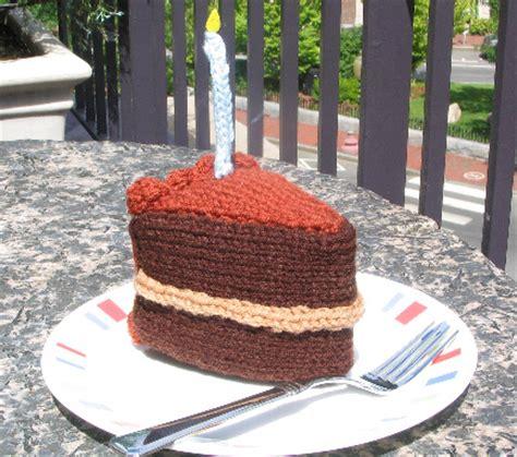 knitted birthday cake pattern box stitch baby blanket allfreeknitting