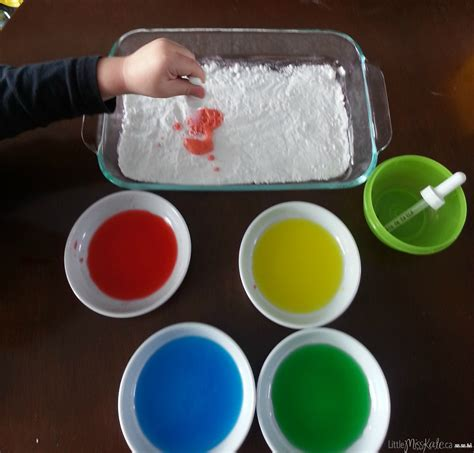 Science And Crafts With The During The Summer