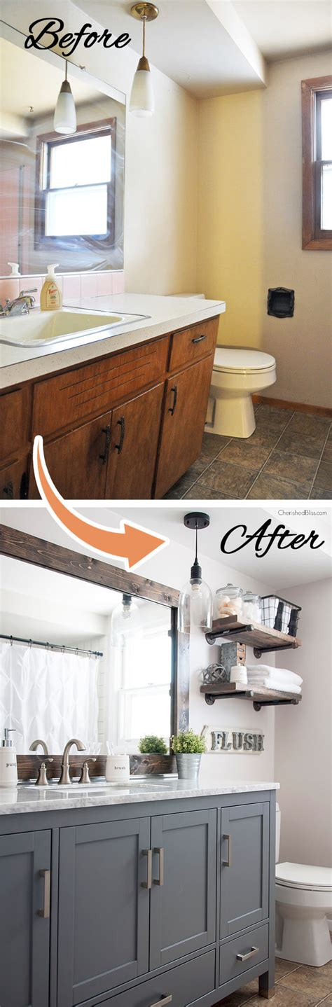 Bathroom Makeover Ideas On A Budget by 28 Best Budget Friendly Bathroom Makeover Ideas And