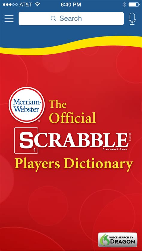 the official scrabble players dictionary merriam webster scrabble dictionary ios app afreecodec