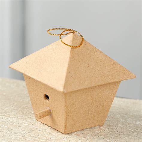 paper mache craft supplies paper mache birdhouse ornament paper mache basic craft