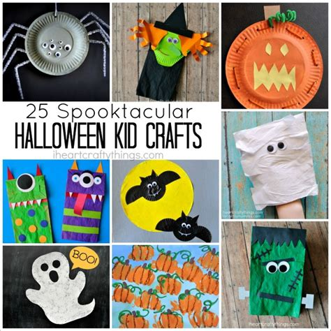 ac kid crafts 25 spooktacular kid crafts i crafty things