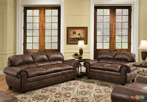 padre chocolate brown living room furniture set w