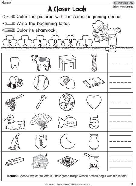 phonics for kindergarten grade k home workbook 1000 images about phonics on