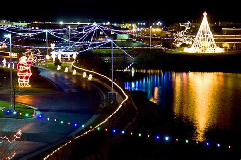 wichita ks lights wichita area events heartspring s quot lights on the lake quot